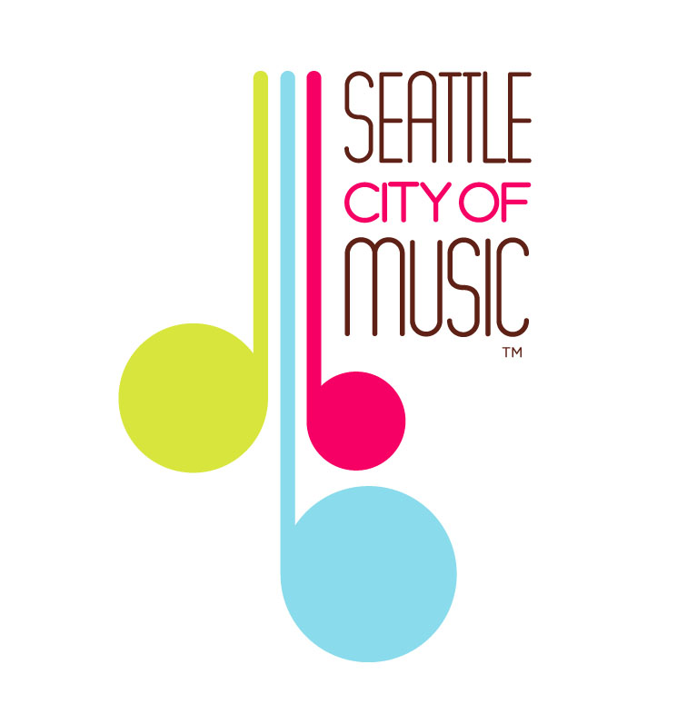 Logo Seattle City Of Music