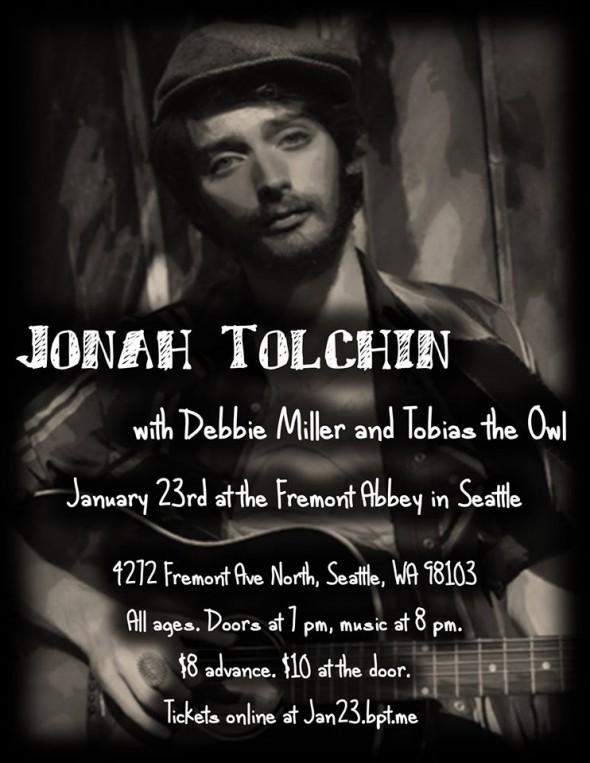 1-23-2015 Jonah Tolchin