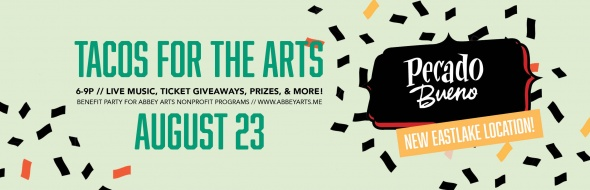Tacos for the Arts Web Banner 2