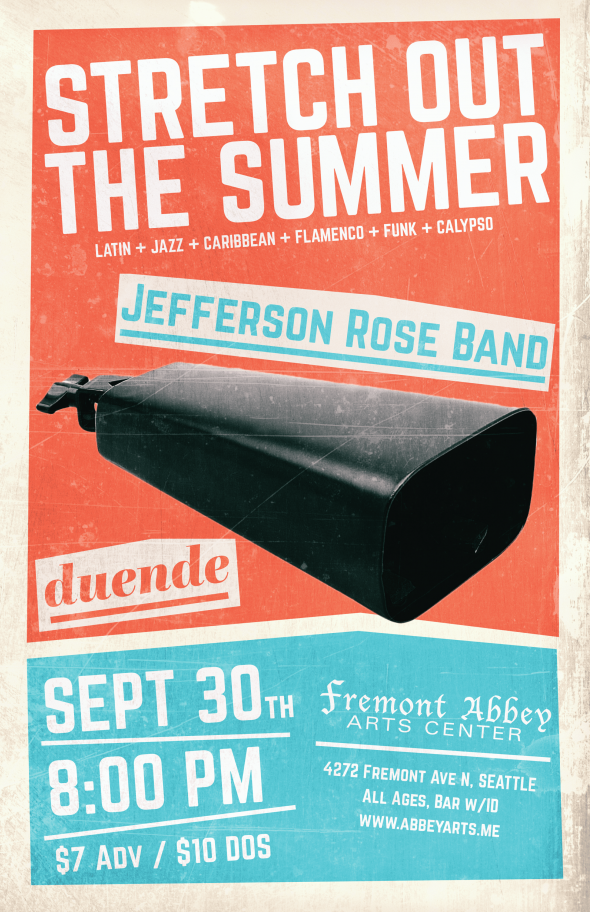 9-30 Jefferson Rose Band Poster