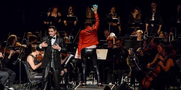 2014.03.01: Phillip Lomax & Seattle Rock Orchestra performs Michael Jackson @ The Moore Theatre, Seattle, WA